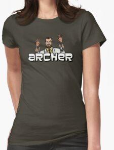 """Archer - Krieger """"Jazz Hands"""" Womens Fitted T-Shirt"""