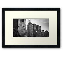 Skyline, NYC Framed Print
