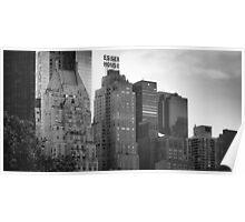 Skyline, NYC Poster