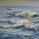 Morning Light on Waves by Sue Nichol