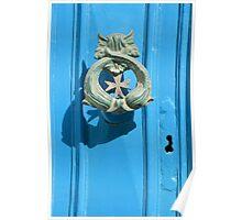 Knock Knock - A Traditional Maltese Door Knocker Poster