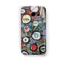 very colourful graffiti icons Samsung Galaxy Case/Skin