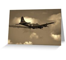 Limping Home Greeting Card