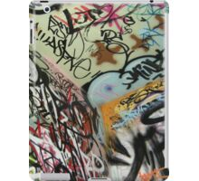 graffiti from all angles iPad Case/Skin