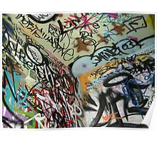 graffiti from all angles Poster