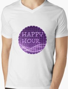 happy hour Mens V-Neck T-Shirt