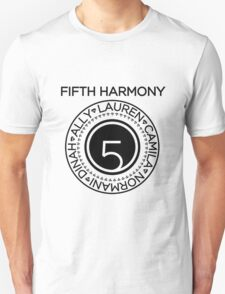 FIFTH HARMONY MEMBER'S NAME Unisex T-Shirt