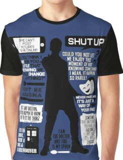 Doctor Who - 12th Doctor Quotes Graphic T-Shirt