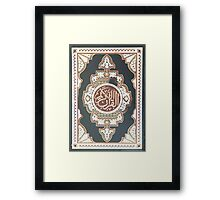 The Quran  Framed Print