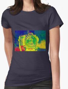 """Camera Obscura"" Womens Fitted T-Shirt"