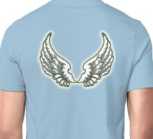 ANGEL, Wings, angelology, Flight, Fly, Angel, Angelic, Air Force, Jets Unisex T-Shirt