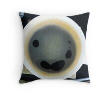 Comfort Food: Coffee Throw Pillow