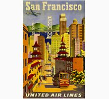 """""""UNITED AIR LINES"""" Fly to San Francisco Print Unisex T-Shirt"""