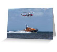 Air Sea Rescue Greeting Card