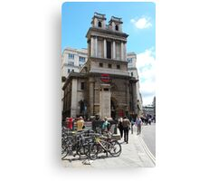 St Mary Woolnoth Canvas Print