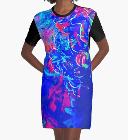 Kinetic Existing  Graphic T-Shirt Dress