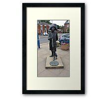 Matthew Flinders statue Framed Print