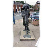 Matthew Flinders statue Poster