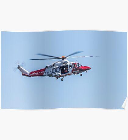 Coastguard Rescue Poster