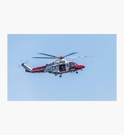 Coastguard Rescue Photographic Print
