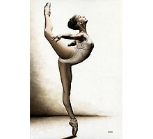 Musing Dancer Photographic Print