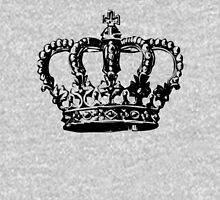 crown black and white decal Unisex T-Shirt
