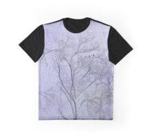 Idaho Falls - Purple Snow Graphic T-Shirt