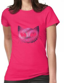 Astral Kitty Womens Fitted T-Shirt