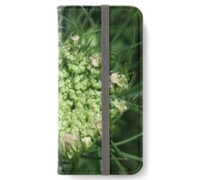 Queen Anne's Lace - First Blush iPhone Wallet/Case/Skin
