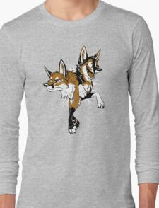 STUCK Foxes (red) Long Sleeve T-Shirt