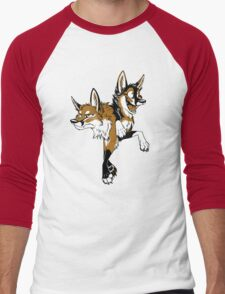 STUCK Foxes (red) Men's Baseball ¾ T-Shirt