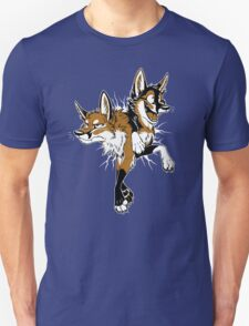 STUCK Foxes (red) Unisex T-Shirt
