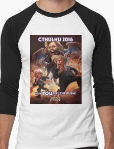 Now YOU feel the BURN! Cthulhu 2016 T-Shirt Men's Baseball ¾ T-Shirt