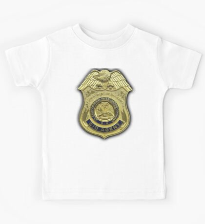 AMERICAN, US, USA, Army, Criminal Investigation Command, CID, Agent, Military Badge Kids Tee