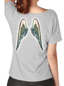 ANGEL, WINGS, Flight, Fly, Angel, Angelic, Angelology, Air Force, Jets Women's Relaxed Fit T-Shirt