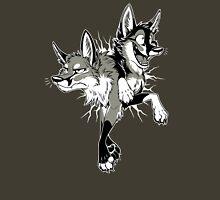STUCK Foxes (warm grey) Unisex T-Shirt