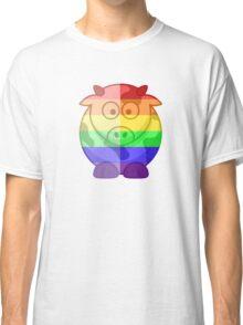 Love U Tees Funny Rainbow Animals Moo Cow LGBT Pride Week Swag, Unique Rainbow Gifts Classic T-Shirt