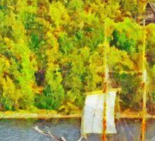 Sailing the Stockholm Archipelago Sticker