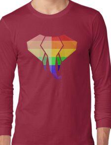 Love U Tees Funny Rainbow Animals LGBT Pride Week Swag, Unique Rainbow Gifts Long Sleeve T-Shirt