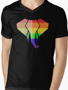 Love U Tees Funny Rainbow Animals LGBT Pride Week Swag, Unique Rainbow Gifts Mens V-Neck T-Shirt