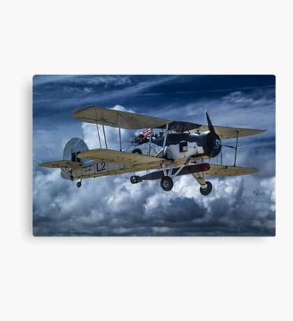 Fairey Swordfish Canvas Print