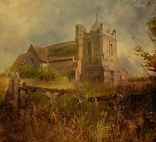 Old Church Gates by Dave Godden