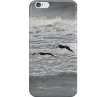 Low Flying Pelicans iPhone Case/Skin
