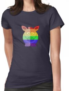 Love U Tees Funny Rainbow Horse Animals LGBT Pride Week Swag, Unique Rainbow Gifts Womens Fitted T-Shirt