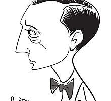 Buster Keaton by groovyart