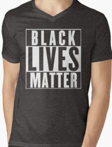 black lives matter Mens V-Neck T-Shirt