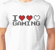 I Heart Gaming Quote Unisex T-Shirt
