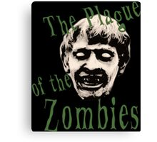 The Plague of the Zombies Canvas Print