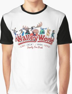 Walley World - Full Character Family Logo Graphic T-Shirt