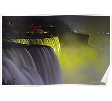 Illumination | Niagara Falls, New York Poster